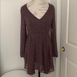 Urban outfitters flowy floral dress NWT